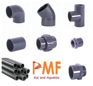 2 Inch Pressure Pipe And Fittings For Koi Ponds And Koi Pond Filtration
