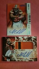 NICK CHUBB 2018 ROOKIE CARD AUTO LOT 1- CONTENDERS 08/49 AUTO 1- ORIGINS PATCH