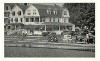 Lakeland Lodge Asbury Park, New Jersey Vintage Old Cars Postcard