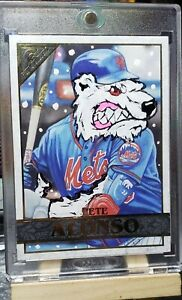 """2020 Topps Gallery Pete Alonso Custom """"LONE WOLF"""" SP #1/1 New York Mets!"""