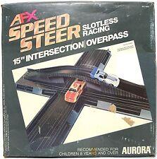 "1979 Aurora Speedsteer HO Slot less Car 15"" INTERSECTION OVERPASS BRIDGE #6055"