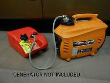 GENERAC IX2000 GENERATOR 6 GAL EXTENDED RUN MARINE FUEL SYSTEM *SINGLE LINE*
