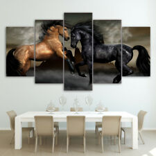 """Modern Abstract Wall Decor Art Painting on Canvas """"no Frame"""" Gallant Horse S"""
