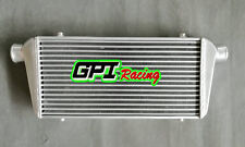 "FMIC TURBO ALUMINUM INTERCOOLER Tube & Fin 550 x230 x50mm 2.25"" INLET OUTLET"