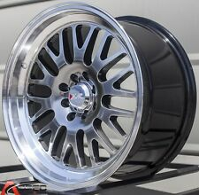 16X8 XXR 531 WHEELS 4X100/114.3 +20MM 73.1 CHROMIUM BLACK W/ML FITS COROLLA