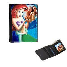 Disney Princess Ariel Personalised, Mens, Ladies Girls Purse, Wallet 12cm x 9cm