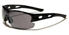 Hombre Xloop Golf Deportes UV400 Gafas de Sol Negras 67