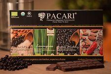 PACARI Luxury Ecuadorian Organic fine chocolate bars Andean Flavours Box 4 bars
