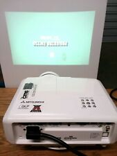 Mitsubishi EW230U-ST DLP Short-Throw 3D Projector HDMI w Premier Mounts Bracket