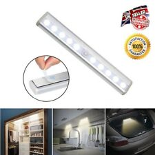10 LED Closet Light PIR Motion Sensor Cabinet Wall Cupboard Kitchen Wardrobe UK