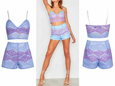 V-Neck Party Lace Mini Dresses for Women