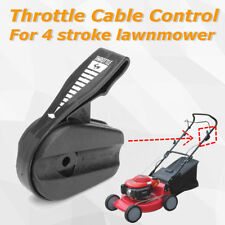 Black Plastic Lawn Mower Throttle Cable Control For 4 Stroke Lawnmower