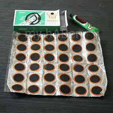 36  Pads + Kleber Fahrrad Reifen Reparaturset Pannenset Flickzeug Schlauch