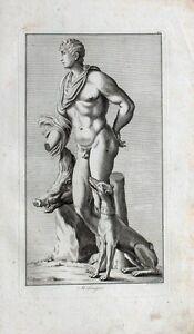 Meleagros Griechenland Wildschwein Eber Jagd-Hund Mythologie Kalydon Akt Erotik