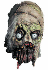Mummy Protruding Eyes & Rotted Mouth Latex Mask Halloween Distortions