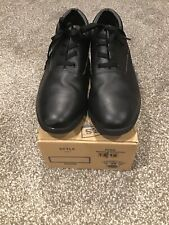 Dinkles Marching Band Shoes Black Lace Up Oxford Mens (12) Womens (14) Style 707