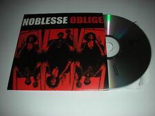 Noblesse Oblige - 4 Track Album Sampler plus Video