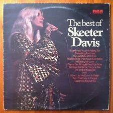 Skeeter Davis, The Best Of Skeeter Davis - Country Compilation Vinyl LP Record