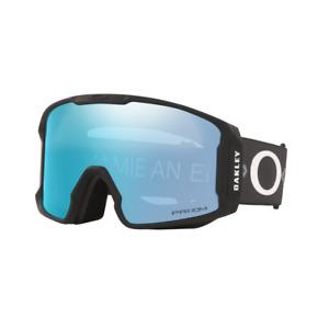 2021 Oakley Line Miner XL Goggle Jamie Anderson Sig. w/ Priz Sap Iridium Lens