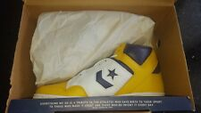 Converse Weapon Gold Leather Sneaker Lakers Magic Johnson Size 10.5 MIB