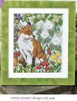 WOODLAND FOX  CROSS STITCH PATTERN ONLY    EQ - RRY