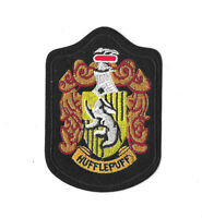 HUFFLEPUFF CREST Iron on / Sew on Patch Embroidered Badge Harry Potter PT250