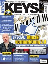 Musikvermarktung 2.0 - Midi-Sequenzer - Keys DVD with Loops Samples Workshops