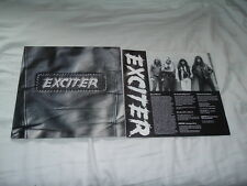 EXCITER Exciter '88 LP Thrash/power ORIGINAL IMPORT !!! press