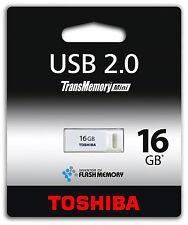 16GB TOSHIBA USB STICK 2.0 SPEICHERSTICK 16 GB FLASH DISK DRIVE