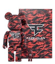 BE@RBRICK x FaZe Clan 400% & 100% Set *ORDER SHIPPED