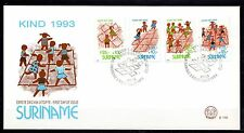 Suriname - 1993 Youth / Games - Mi. 1461-64 clean FDC