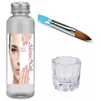 Acryl Liquid Easy 100ml mit Pinsel  Acrylpulver Powder Nageldesign Acrylnägel