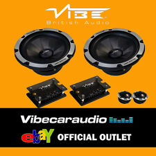 "Vibe Blackdeath 6C Components V6 16.5cm 6.5"" 420 Watts Car Door Speakers"