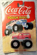 Coke Cola Tough Rider Die Cast Red Monster Truck Team Turbo