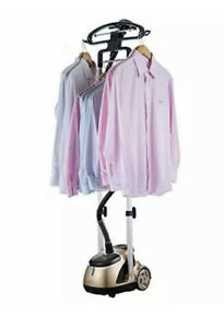 SALAV GS49-DJ Professional Dual Bar Garment Steamer with Stainless Steel Nozzle