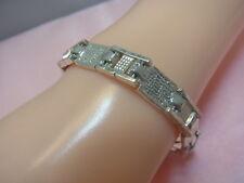 925er Silber Armband Lang 21 cm Breit 8,15 mm Gewicht 24,4 gramm