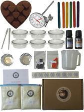 Wax Melt Kit ~ Huge Starter DIY Candle Making Kits 1Kg Soy & Best Essential Oils
