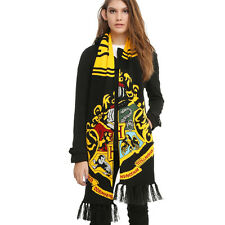 Harry Potter Hogwarts college LOGO Exquisite Thickening Knitted Scarf Multicolor