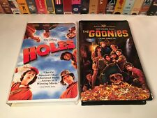 Family Comedy Adventure Clamshell VHS Lot of 2 The Goonies & Holes Shia LaBeouf