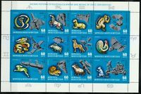 Mongolia 1972 Sc C33 Sheet of 12 Astrological Signs of the Eastern Calendar **