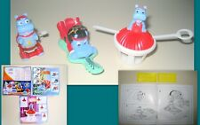 KINDER MAXI -SET COMPLETO HAPPY HIPPO   + CARTINE E ADESIVI DE-25N-1,2,3