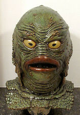 Revenge of the Creature 1:1 scale mask bust head prop from black lagoon  monster