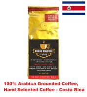 Brass Knuckle Coffee, KNOCKOUT Strong Dark Roast 100% Arabica Ground, Costa Rica