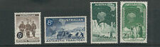 Australian Antarctic Territory 1957 First Set (Scott L1-3 L5 4 values only) Mlh