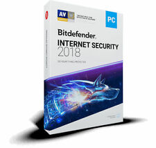 Bitdefender Internet Security 2018 - 1 PC 1 Year (Central Account - eDelivery)