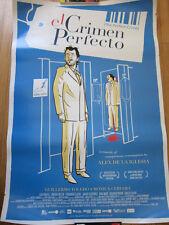 PERFECT CRIME El Crimen Perfecto Movie poster Alex De La Iglesia