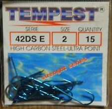 1 Confezione 15 AMI TEMPEST serie 42 DS E n 2  pesca BB21