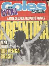 Goles Magazine Argentina Soccer World Cup 1978 Extra Edition