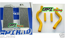 Aluminum radiator + hose Suzuki RM250 RM 250 2-stroke 01-2008 02 03 04 05 06 07