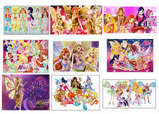 9 Winx Club inspired Stickers Party Loot Goody Favor Treat Gift Bag Fillers